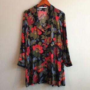⭐️Zara Trafaluc Floral Summer Swing Dress Chic